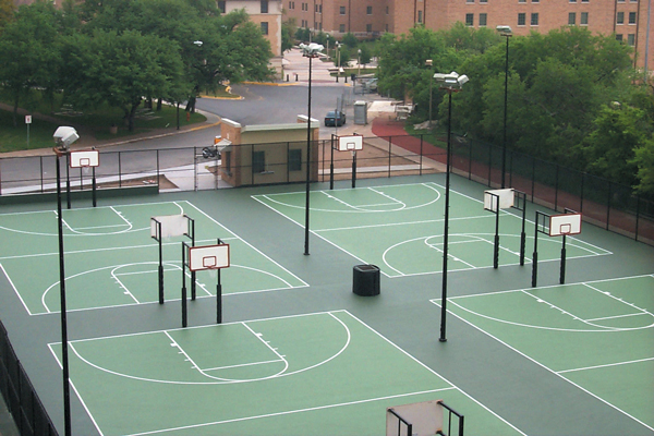 Basketbol Sahası Çit Uygulamaları
